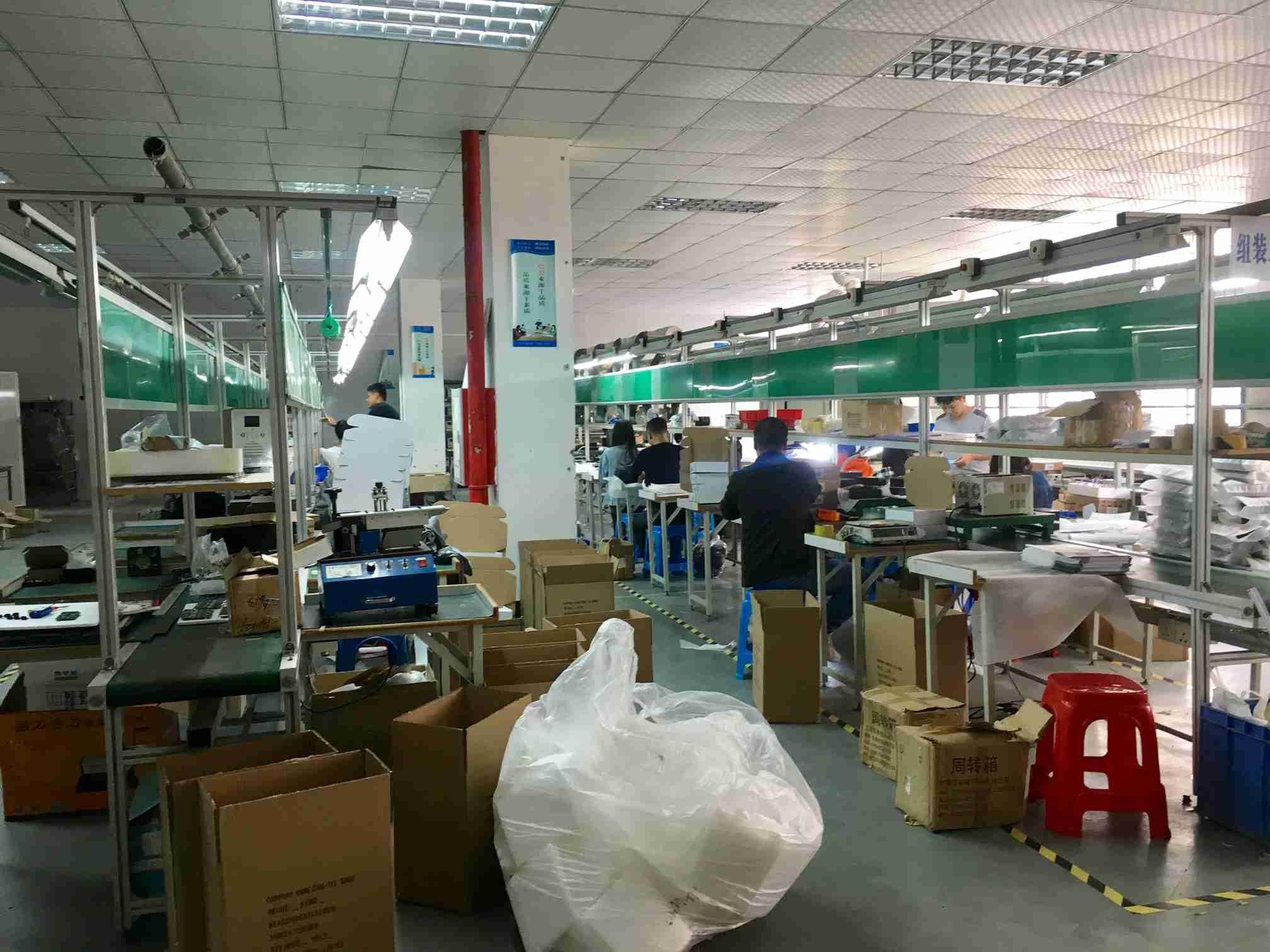 惠州合欢视频在线观看生产包装流水线
